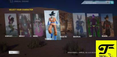 Dragon ball Unreal – Game Demo available to download