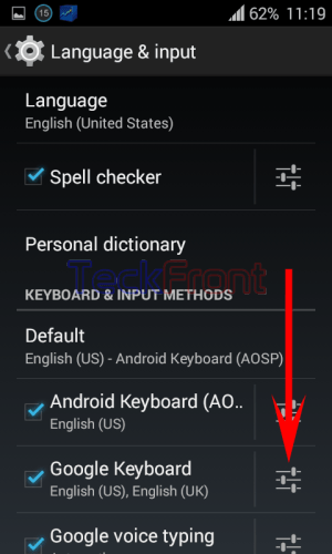 How to Block Offensive Words in Google Keyboard in Android
