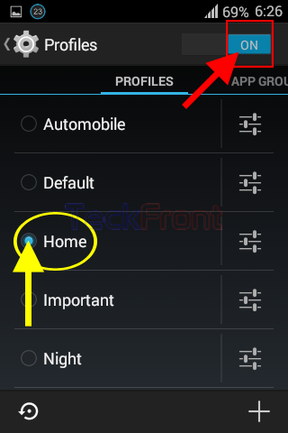 Android audio profile 4.4.2 запустить