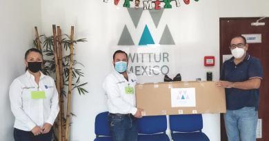 WITTUR MÉXICO S. DE R.L. DE C.V.  dona de 50 pares de mangas de carnaza nuevas