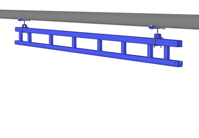 Ceiling Mounted Monorail | TECNADirect.com