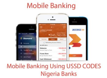 Mobile Banking Using USSD CODES - Nigeria Banks - TecNg