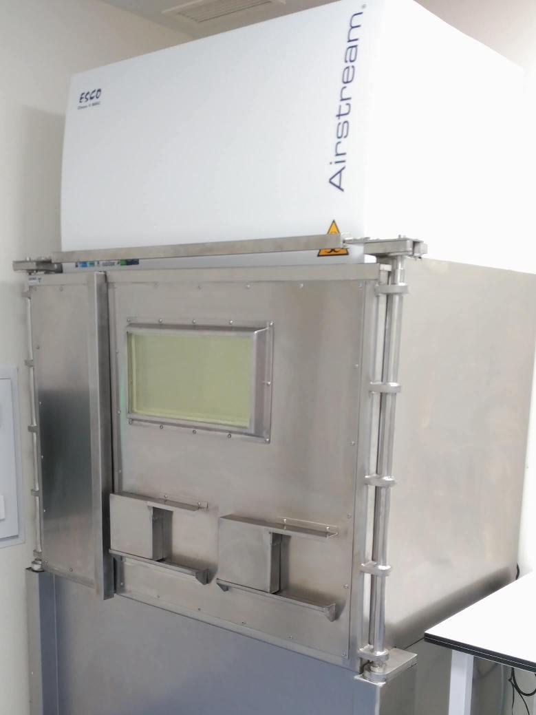 Cabina de bioseguridad blindada para PET con plomo macizo