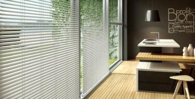 persianas-venecianas-de-aluminio  - Mobiliario de Oficina