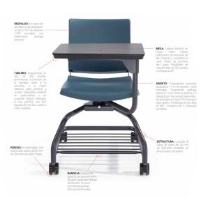 atenea_partes  - Mobiliario de Oficina