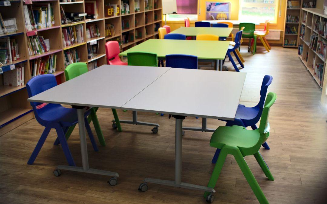 Instalaciones en Colegios – Mobiliario Escolar