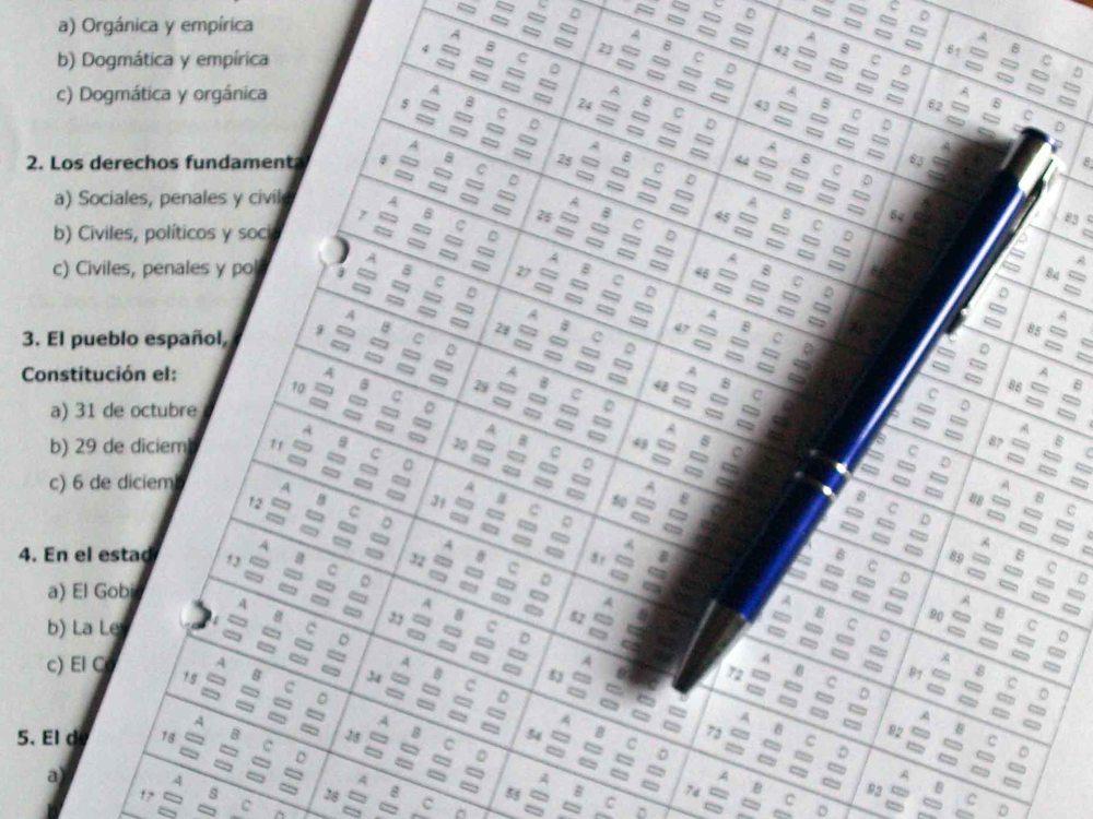 ¿Sabes hacer exámenes tipo test? (3/3)