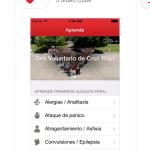 La Cruz Roja lanzó una aplicación para saber qué hacer en casos de emergencia