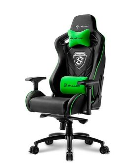 Silla Gaming Sharkoon Skiller SGS4 Negra/Verde