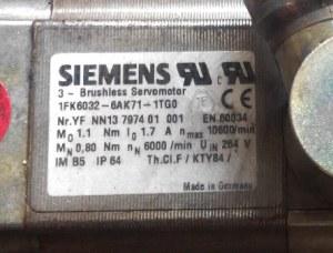 siemenservomotor1fk6032-2