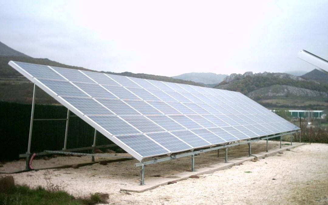 Parque fotovoltaico en «San Salvador de Cantamuda» 50,4kWp