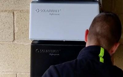 Sistema de baterias de Solarwatt