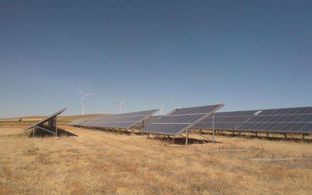 Parque fotovoltaico en «Becerril» 184,55kWp