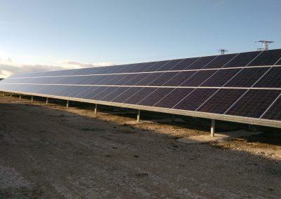 Parque fotovoltaico en «Alba de Cerrato» 115,08kWp