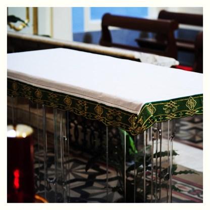Altare da chiesa in legno