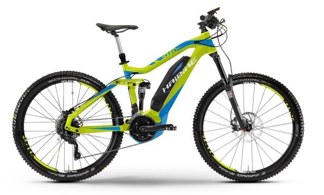 Noleggio e-Bike MTB Haibike Sduro AllMtn TecnoBikeTerni