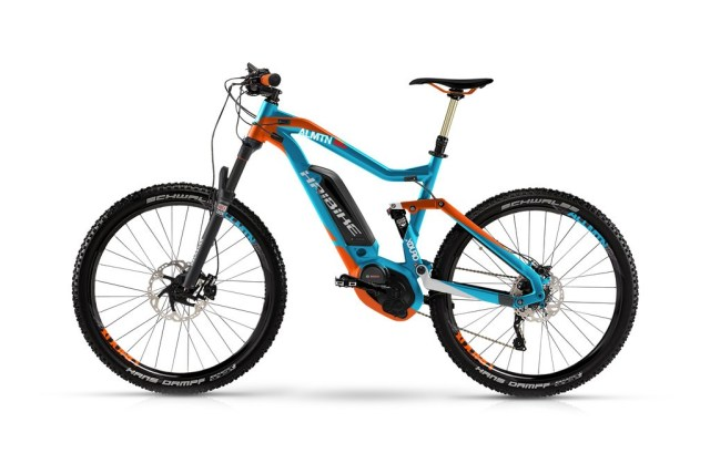 Noleggio e-Bike MTB Haibike Xduro AllMtn Tecno Bike Terni