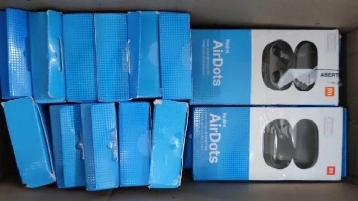 Redmi AirDots, fones TWS da Xiaomi (Imagem: Divulgação / RFB)