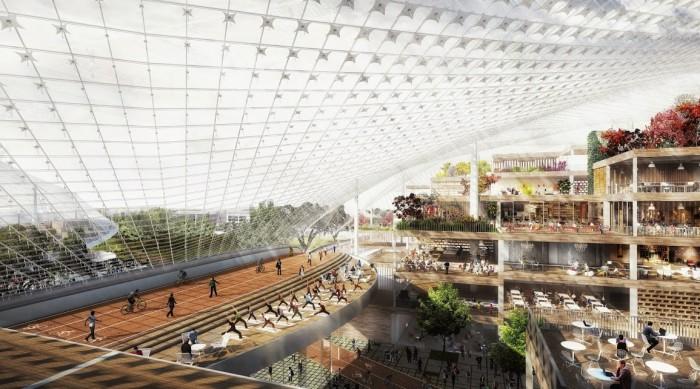 Campus futurista do Google