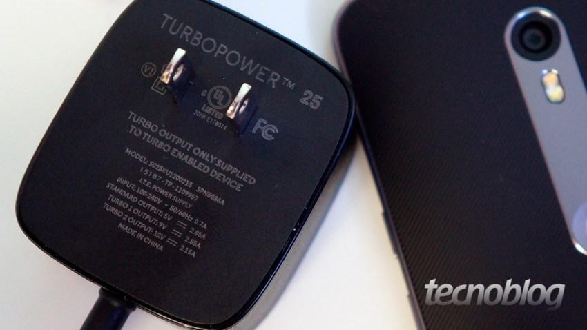 TurboPower de 25W acompanha o Moto X Style