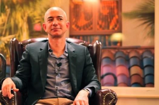 Jeff Bezos. Foto por Steve Jurvetson/Flickr