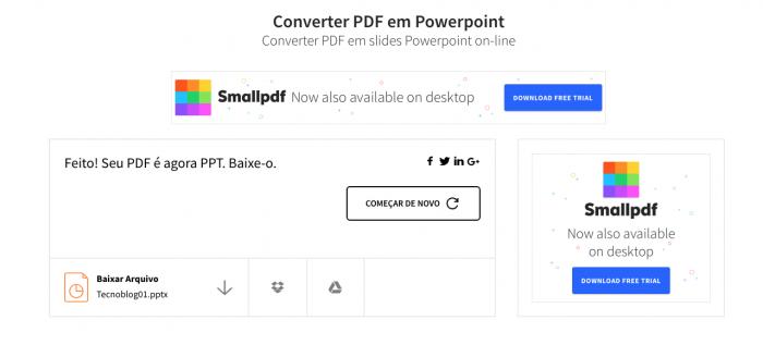 PDF para PTT