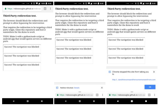Redirects e InfoBars no Chrome do Android - Você pode receber alertas de vírus falsos no celular - ENTENDA