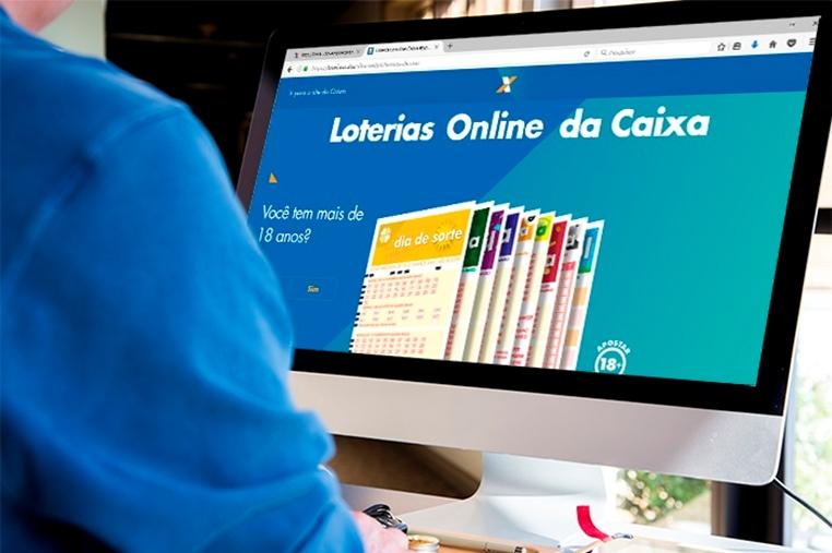 Resultado de imagem para Caixa lança site de aposta online em loteria para qualquer pessoa