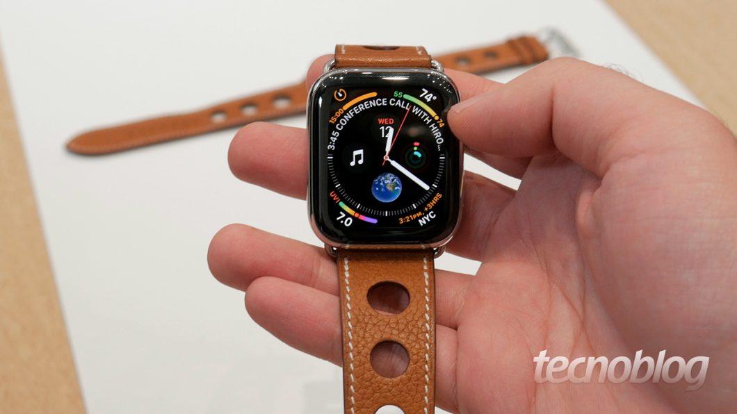 Apple Watch Series 4 Focando Mais Em Sa 250 De Gadgets