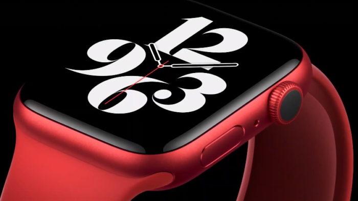 Apple Watch Series 6 (Imagem: Divulgação/Apple)