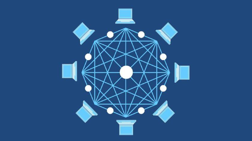Blockchain network (Image: Tumisu/Pixabay)