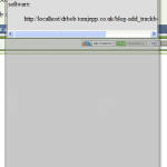A JavaScript popup message in use on drboblog.