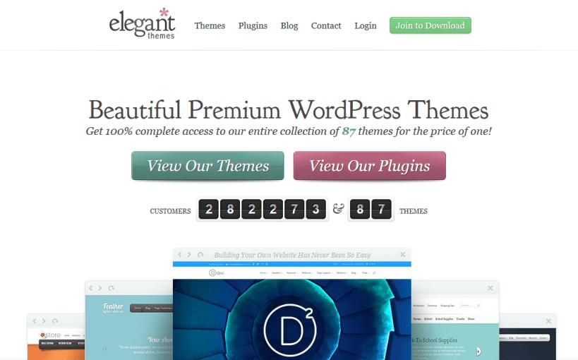 5 Melhores Lugares Para Adquirir Temas de WordPress