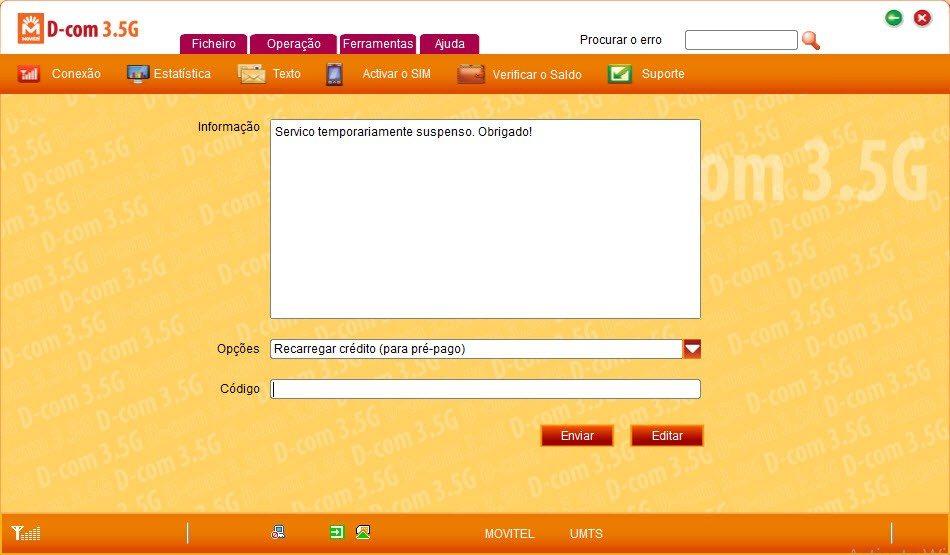 Movitel suspende serviço de internet ilimitada