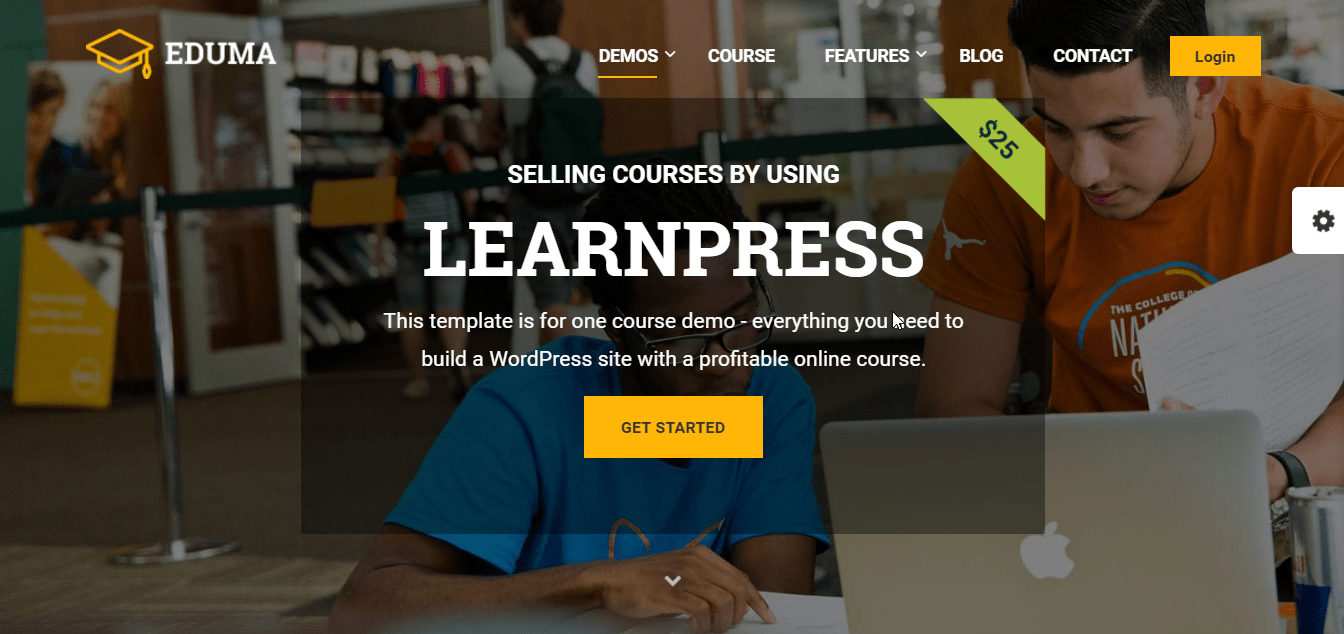 Eduma e LearnPress