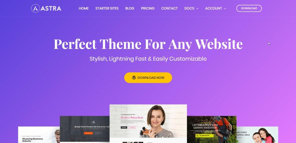Temas Para Criar Websites