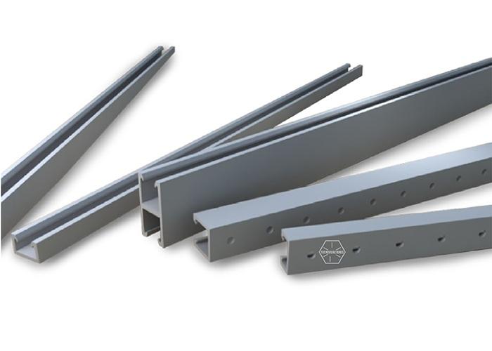 Unicanal de fibra de vidrio 4×4/4×2