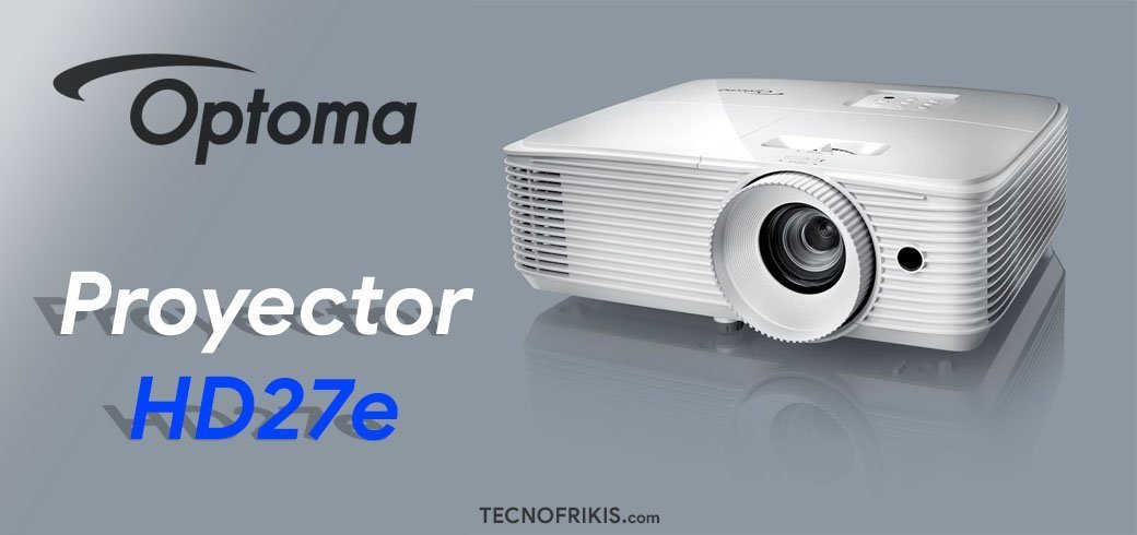 Proyector Optoma HD27e - Imagen 2 - TECNOFRIKIS