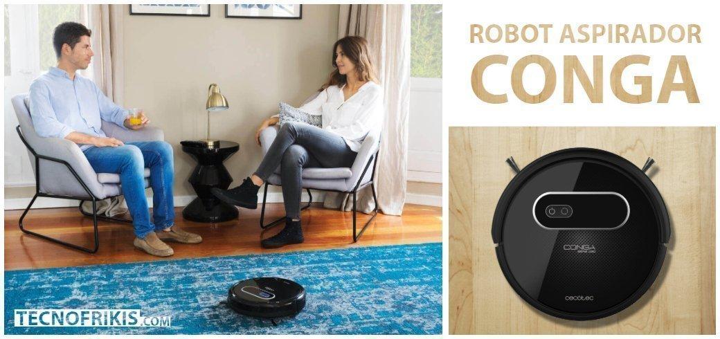 Robot aspirador Conga de Cecotec, el especialista en aspiradores inteligentes - Imagen 2 - TECNOFRIKIS