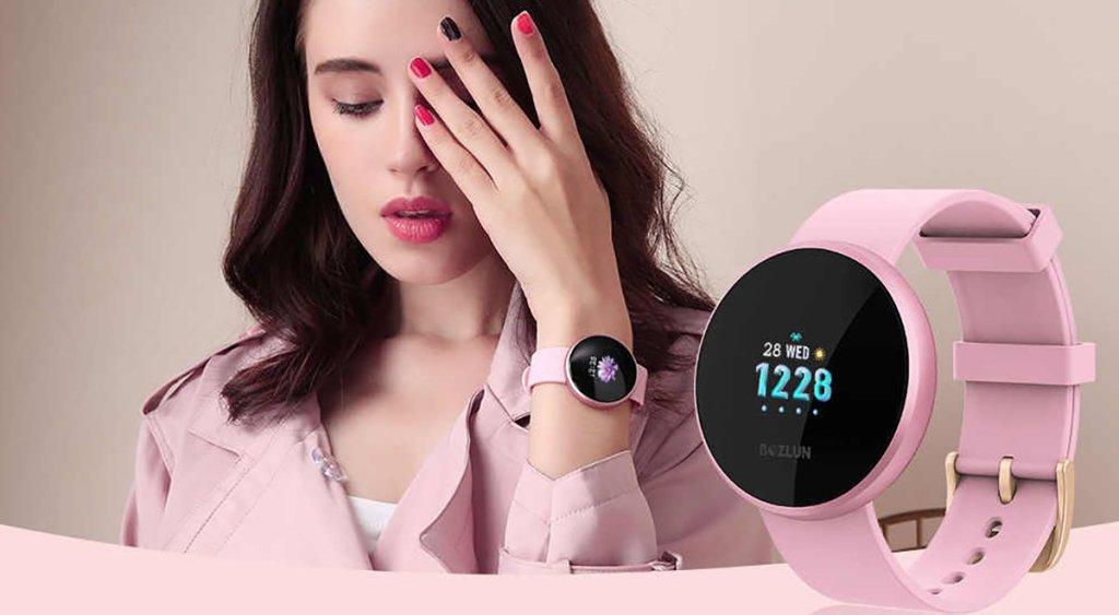 Bozlun B36 Lady, el reloj inteligente exclusivo para ellas - Imagen 2 - TECNOFRIKIS