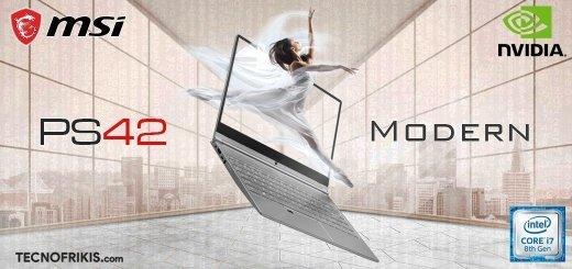 MSI PS42 Modern – 8RC-001ES, un portátil elegante y potente - Imagen 5 - TECNOFRIKIS