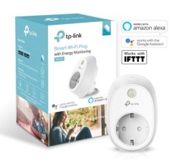 TP-Link HS110 - Enchufe inteligente inalámbrico con monitorización de energía, controle sus dispositivos desde cualquier lugar, funciona con Amazon Alexa, Google Home e IFTTT