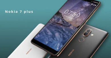 Especificações do Nokia 7 Plus