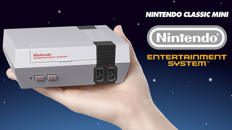 Nintendo confirma retorno do NES Classic Mini