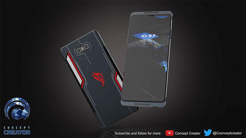 ASUS ROG Phone 2.0 aparece em novas renderizações