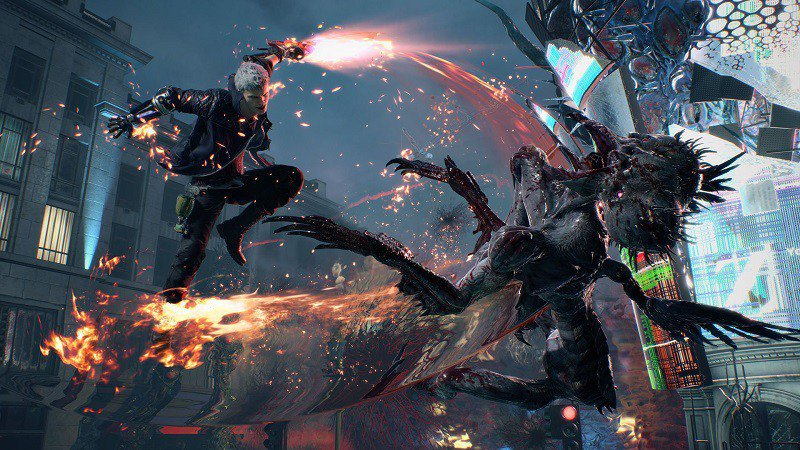 Capcom revela esquema de controle de Devil May Cry 5