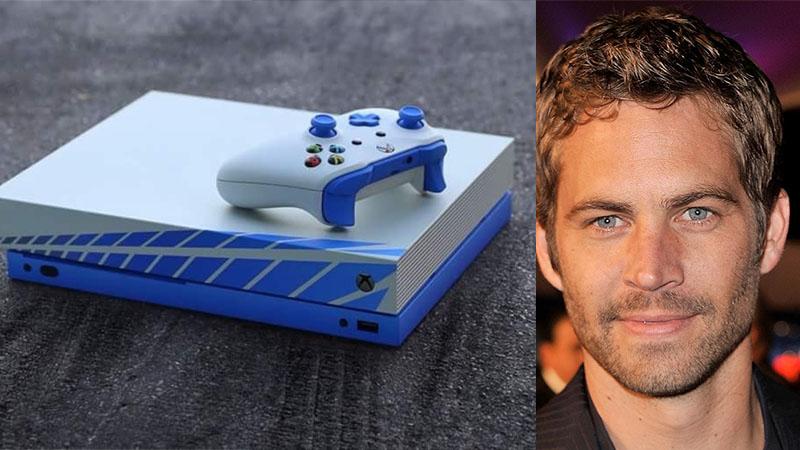Edição especial do Xbox One X será lançada em homenagem a Paul Walker