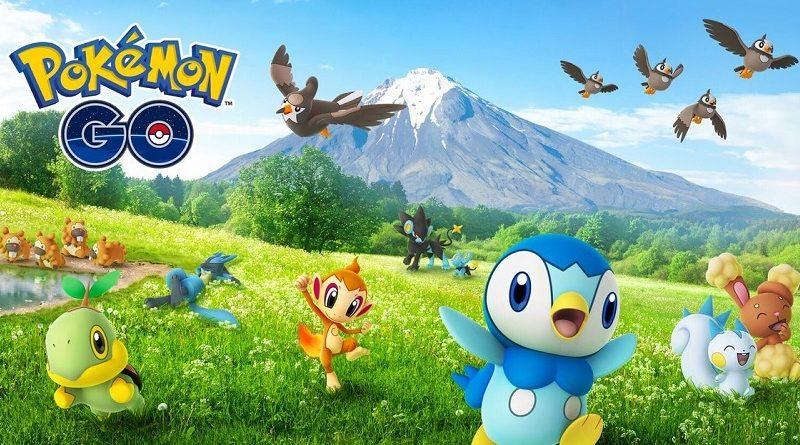 Veja quais são os 24 primeiros Pokémon da 4ª geração que você já pode capturar em Pokémon GO
