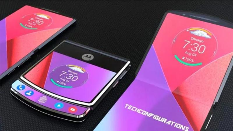 Patentes mostram como será o design do novo Motorola Razr