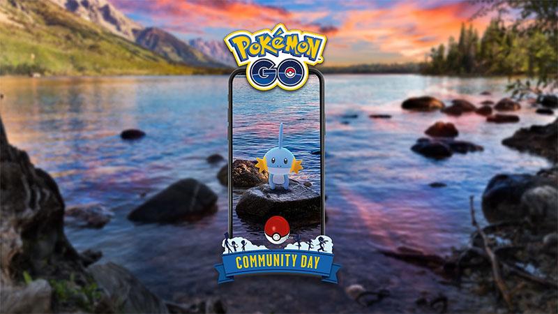 Mudkip será o grande protagonista do próximo Dia Comunitário de Pokémon GO